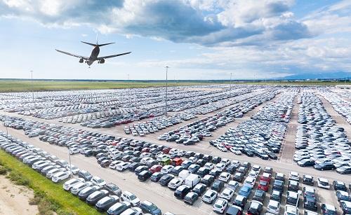 Parking aéroport à Lyon